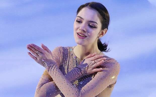 Медведева на шоу «Ледниковый период» представила новую показательную программу