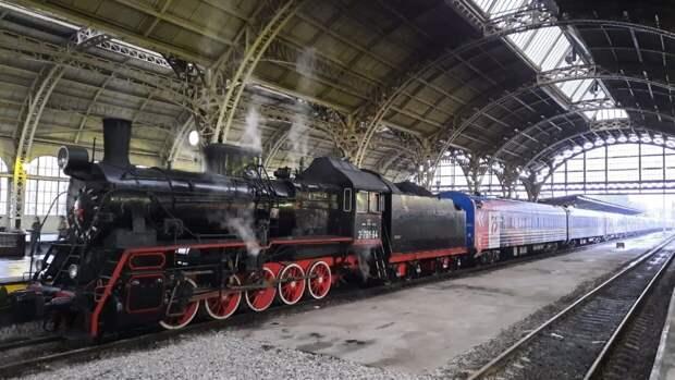 Ретро-поезд Победы прибудет 9 мая в Читу