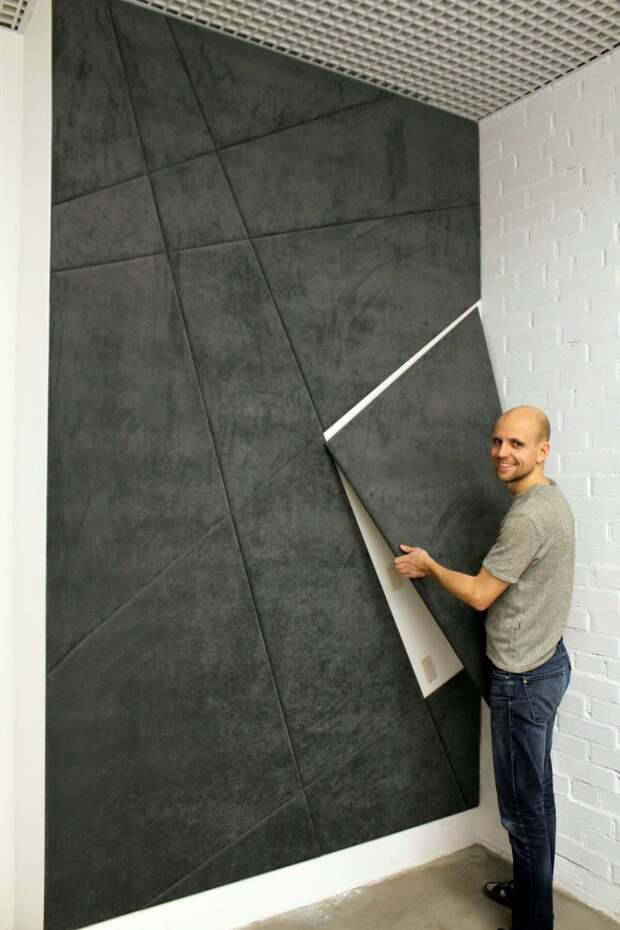 Быстрый декор стен (подборка идей)
