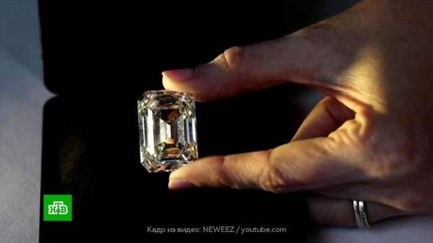 Российский бриллиант продали с аукциона более чем за 14 млн долларов