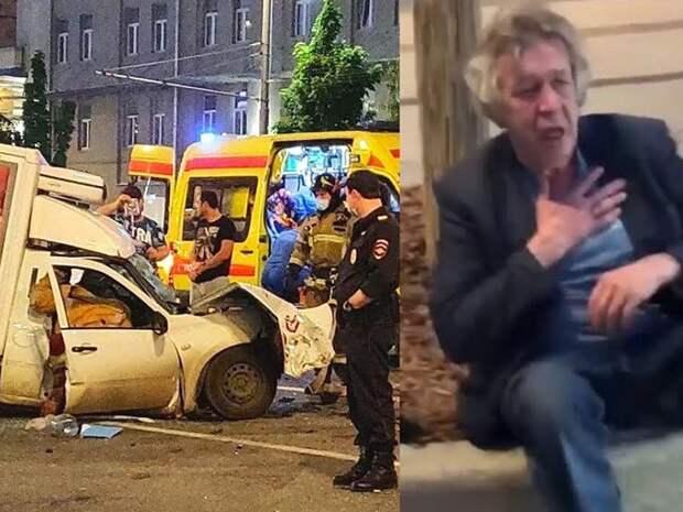 Ефремов авария ДТП, отказался от вины