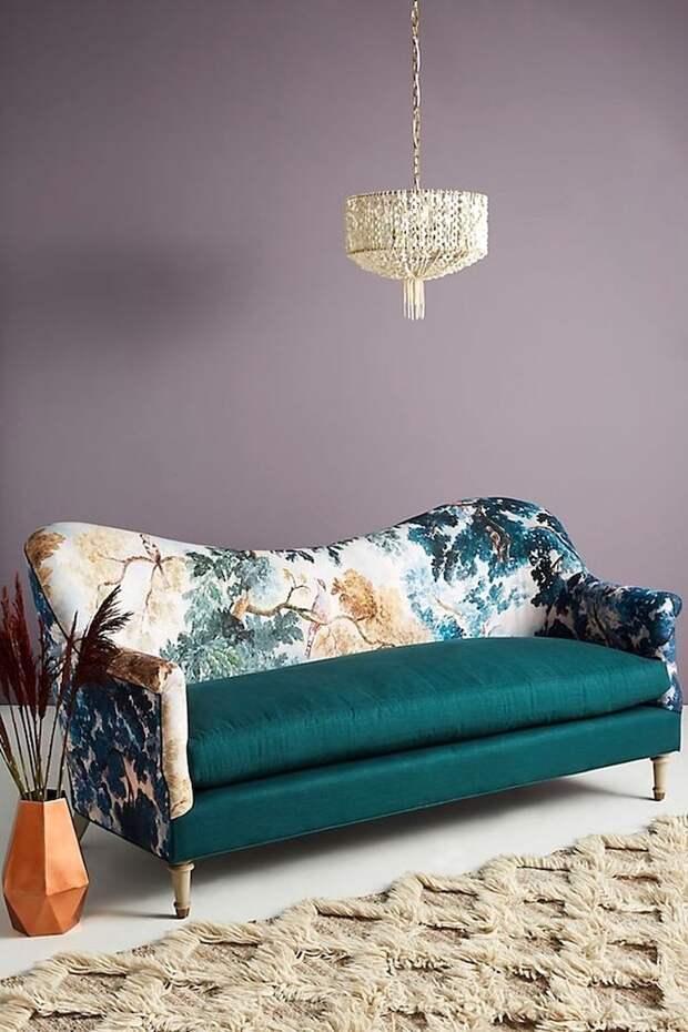 Идеи ярких примеров комбинированной обивки мебели