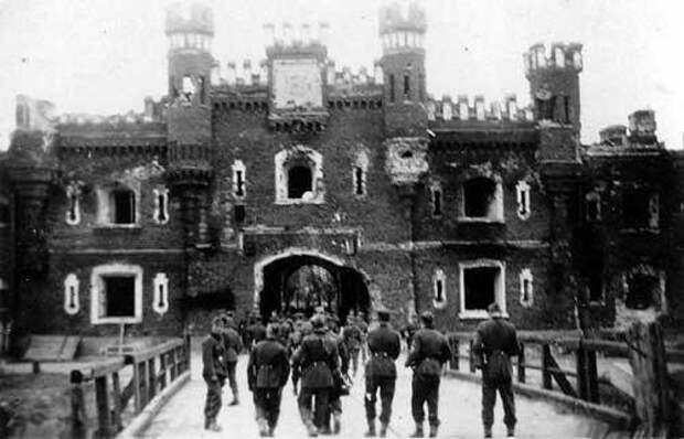 1941 Брестская Крепость глазами врага