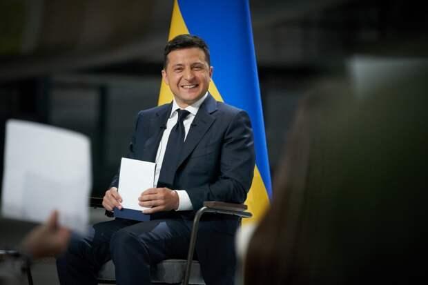 Монтян: Зеленский вёл себя на пресс-конференции как конченая мразь