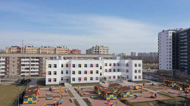 В мае в Петербурге появились четыре детских сада на 520 мест