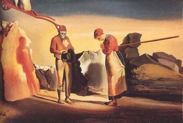 Как Сальвадор Дали «расшифровал» картину Жана -Франсуа Милле