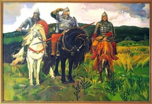 Русские богатыри всегда стояли на страже своей Родины, и особенно хорошо они показали себя в деле возвращения старинных земель Руси