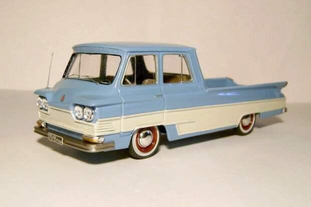 Старт пикап авто, автодизайн, газ, запорожец, моделизм, модель, москвич, советские автомобили
