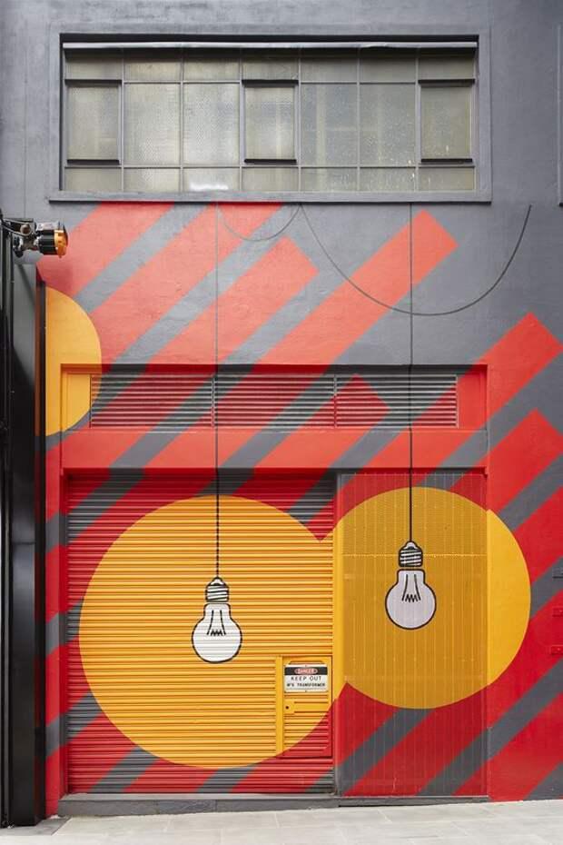 Креативные стены (подборка)