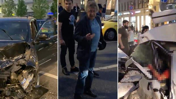 В дымину пьяный актер Михаил Ефремов устроил страшное ДТП в Москве