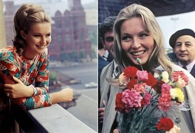 Марина Влади в Москве, 1965 | Фото: kleinburd.ru
