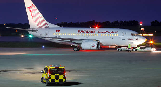 Tunisair отменила все рейсы из-за драки пилотов с техниками