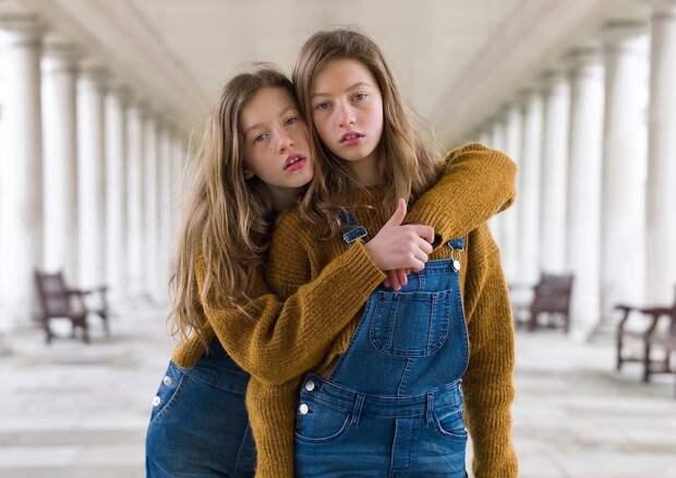 Британский фотограф создал проект, в котором показал, что каждый из близнецов всё же уникален