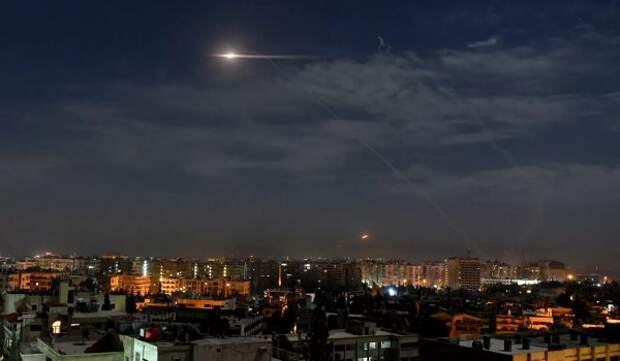 СМИ: Израиль обстрелял территориюn Сирии
