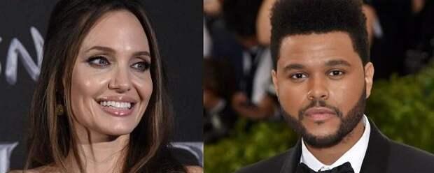 Анджелину Джоли заподозрили в романе с рэпером The Weeknd