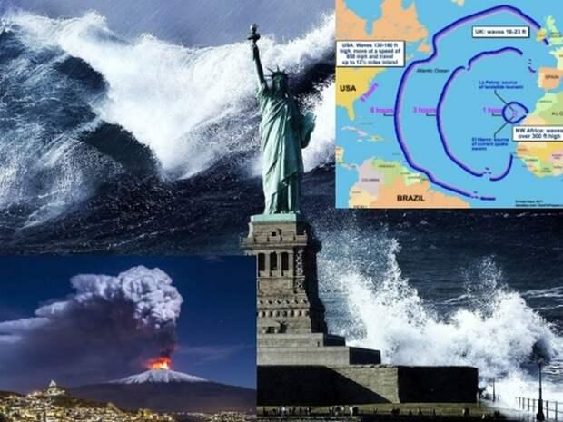 Пророчество о мегацунами, которое уничтожит США, начинает сбываться?