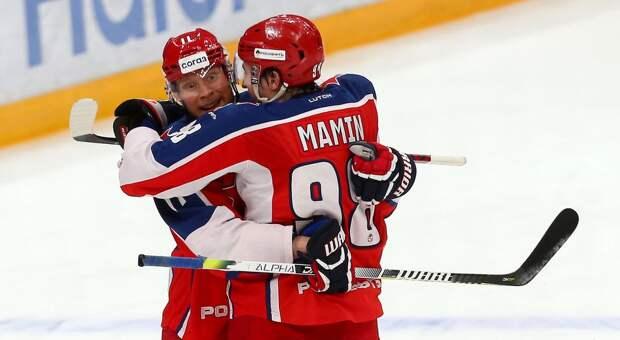 ЦСКА в овертайме победил рижское «Динамо», проигрывая 1:3 за шесть минут до конца матча