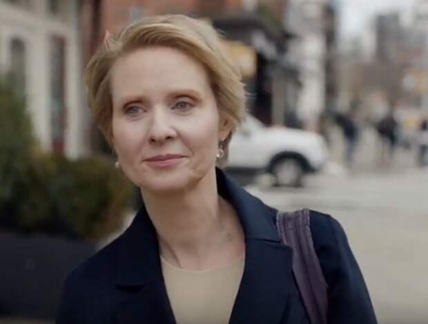 Звезда «Секса в большом городе» баллотируется на пост губернатора штата Нью-Йорк, и мы не шутим.