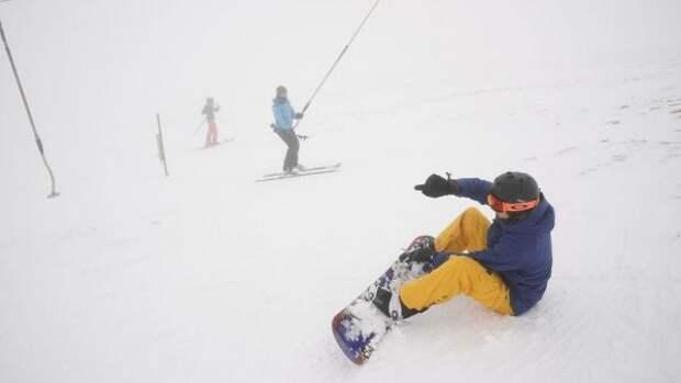В национальном парке Lake District прошел обильный снегопад
