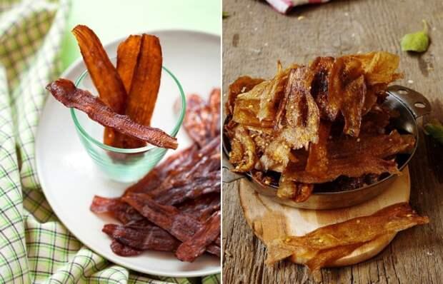 Бекон из баклажанов - вкусное и оригинальное блюдо.