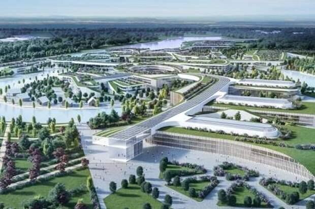 Представлен проект города будущего в Борской пойме