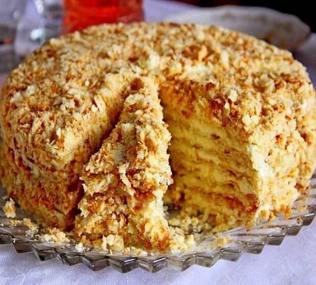 Самый вкусный торт «Светлана» без выпечки. Справится любая хозяйка