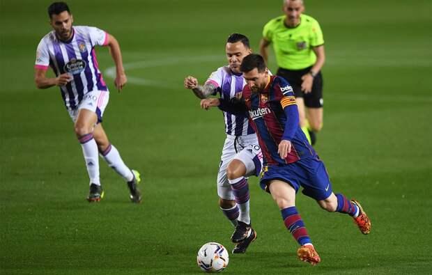 «Барселона» обыграла «Вальядолид» и до минимума сократила отставание от лидирующего в Ла Лиге «Атлетико»