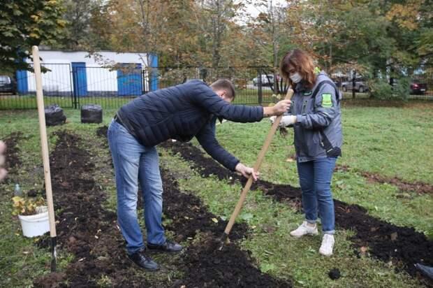 «Детский сад» для деревьев появился на Абрамцевской
