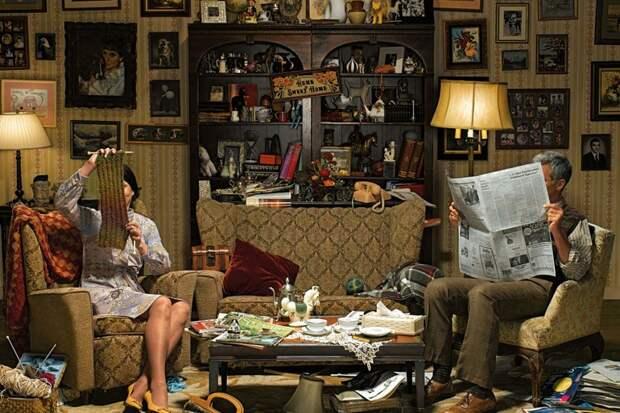 5 шагов для избавления от лишних вещей в гостиной