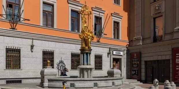 Достопримечательность Арбата – фонтан «Принцесса Турандот» будет отремонтирован