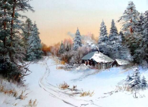 художник Александр Леднёв картины – 15