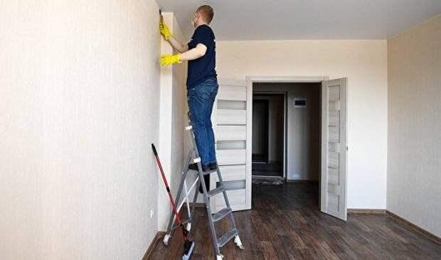 Россияне стали чаще заказывать уборку и мелкий ремонт по дому