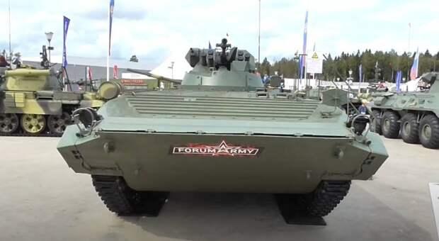 «Бюджетная замена БМП-3»: в США оценили новую боевую машину пехоты «Басурманин»
