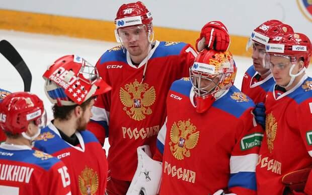 Стали известны составы звеньев на тренировке сборной России перед ЧМ