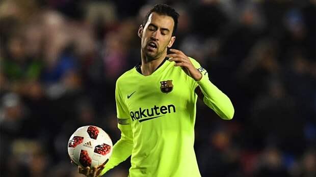 Бускетс вернулся в общую группу игроков «Барселоны» после перелома челюсти