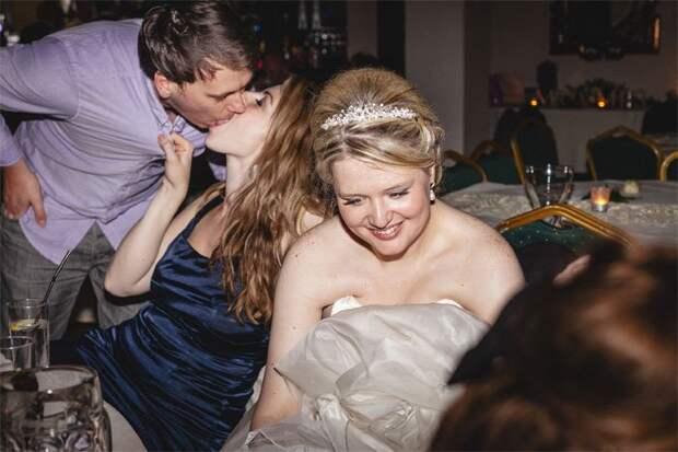 Забавные свадебные фотографии не для альбома