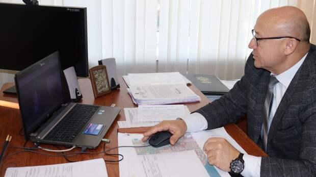 Владимир Сабивчак провёл очередной прием граждан