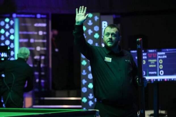 Марк Аллен вышел в финал турнира Northern Ireland Open 2021