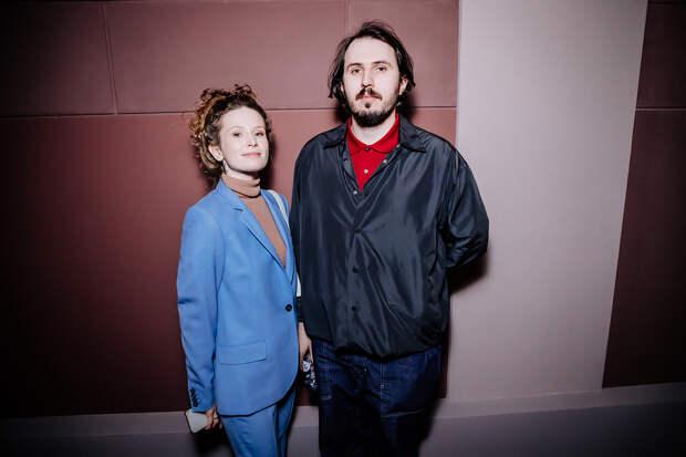 Лиза Монеточка с мужем