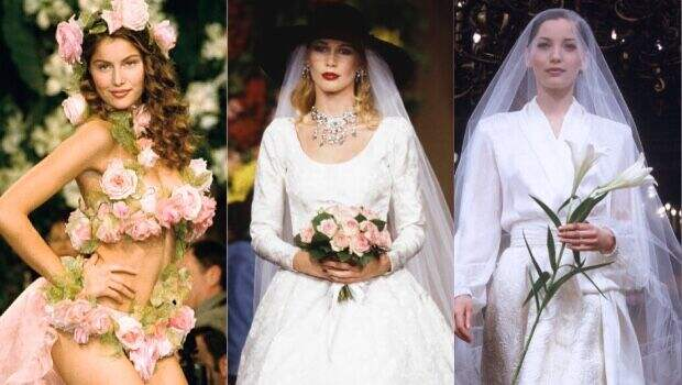 10 культовых свадебных платьев Ива Сен-Лорана