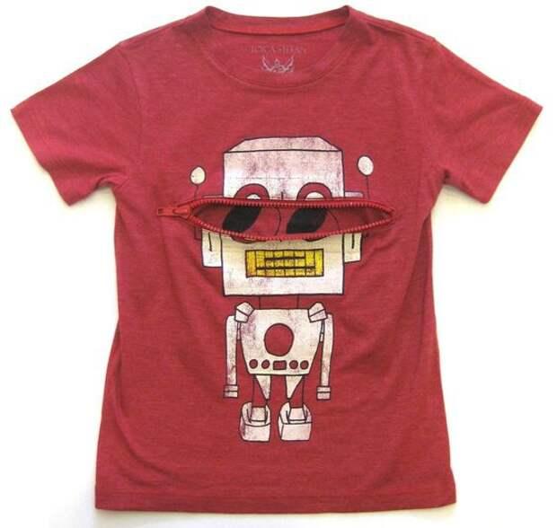 Декор футболок для детей (трафик)