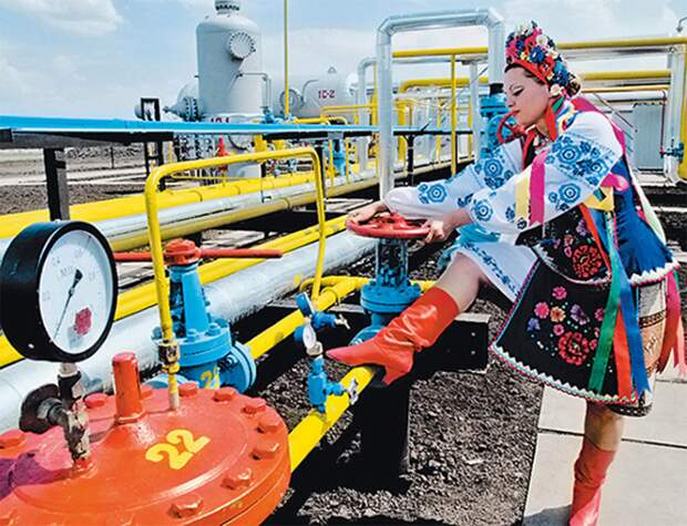 Украина угрожает оставить Европу без российского газа