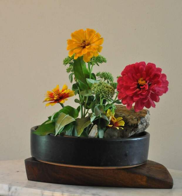 Икебана своими руками: оригинальное украшение для дома (40 фото)