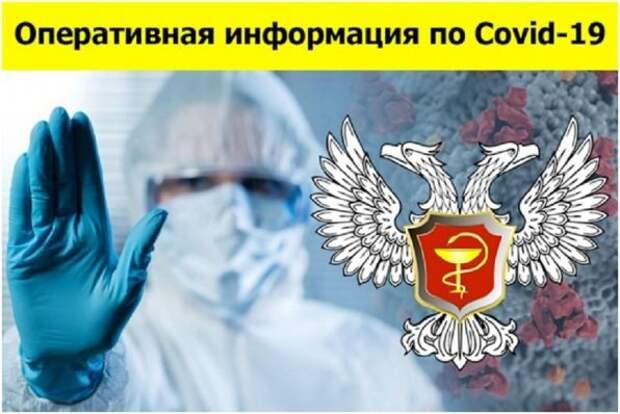 Свежая сводка по COVID-19 в ДНР: выявлено 165 новых случаев заболевания