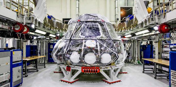 Проведены первые испытания жилого модуля космического корабля Orion