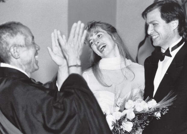 Свадьба Стива Джобса