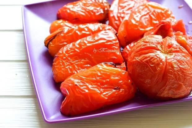Соус из гриль-перца с жимолостью