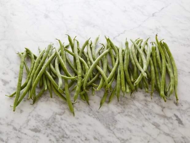 Зеленая фасоль 60 стручков = 100 калорий   еда, калории