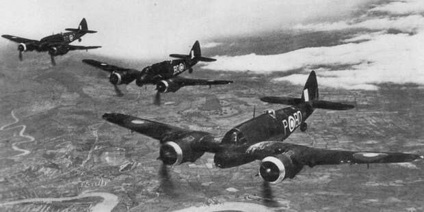 Бофайтеры 600-й эскадрильи