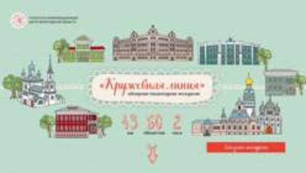 «Кружевная линия» - по историческому центру Вологды